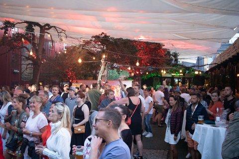 UKLART: Det er foreløpig uvisst hvordan festivalsommeren blir både lokalt og nasjonalt. Bildet her er fra Foynhagen i fjor.