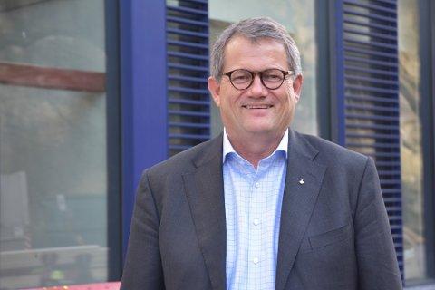 BEGYNTE BRA: Konsernsjef Morten Fon kan konstatere at Jotun hadde en solid inngang til 2020. Men med lavere aktivitet i flere bransjer rammes også Sandefjords-selskapet av koronakrisen.