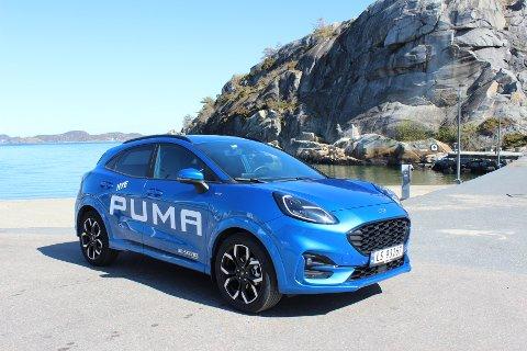 Ny modell: Puma er en splitter ny crossover fra Ford som størrelsesmessig befinner seg et sted mellom EcoSport og Kuga.
