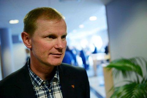 FORTSATT SYV: Vestfold får beholde sine syv stortingsrepresentanter også neste periode, konstaterer Erlend Larsen (H).