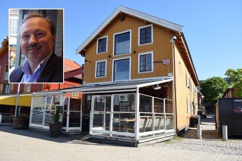 DYRT: Jan Petter Andersen og serveringssteder betaler dyrt for strenge koronatiltak. Nå håper Sawatdee-eieren at det snart lempes på reglene.