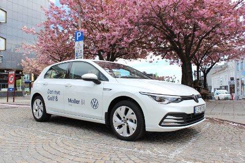 MISTER ELBILEN: Golf anno 2020 er åttende utgave av den populære tyskeren, men uten elektrisk modell vil nok Golf-salget falle i Norge. I resten av verden er dette uansett en stor bilnyhet.