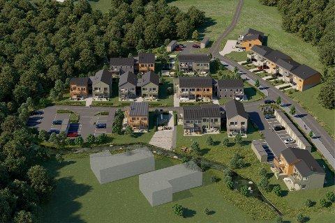 HELT NYTT BOOMRÅDE: OBOS Block Watne skal bygge ut i Firingen-området på Vear.