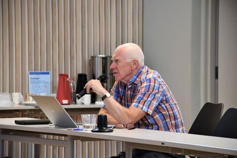 VIL HØRE VELGERNE: Richard Fossum (Sp) ønsker folkeavstemning om fastlandsforbindelsen i Tønsberg og Færder kommuner, eventuelt en meningsmåling.