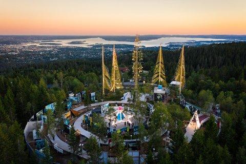 ROSESLOTTET: Ute i marka, høyt over Oslo by ligger kunst- og kultursenteret Roseslottet. Her skal det bys på aktiviter og opplevelser året rundt..