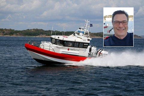 MÅTTE HJELPE MANGE UERFARNE: Korpsleder Egil Elvestad og Røde Kors har hatt en spesiell sommer.
