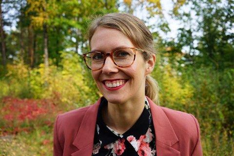 FESTIVALSJEF: Ragnhild Menes er den nye festivalsjefen for Kongsberg jazzfestival.