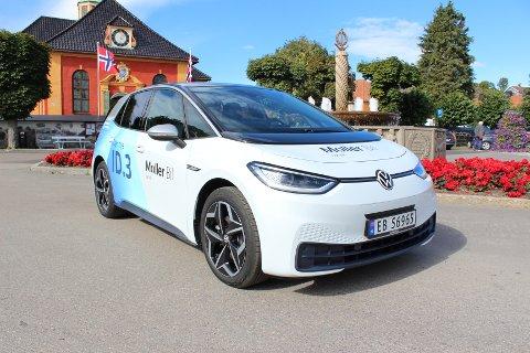 AVANSERT NYKOMMER: Nye ID.3 erstatter Volkswagen e-Golf og er en banebrytende elbil innenfor områder som kjørekomfort og teknologi.