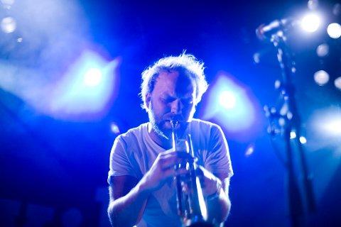 KIND OF BLUE: Det er all mulig grunn til igjen å vente usedvanlig vakre toner fra trompeten til Mathias Eick i Støperiet, 9. oktober.