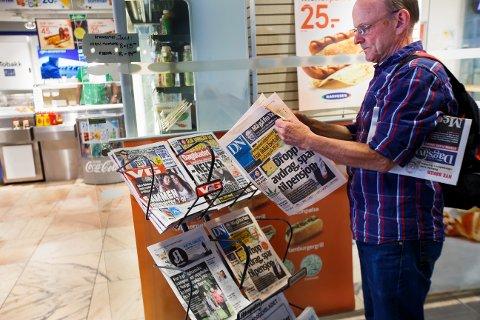 VIKTIGE NYHETER: Det kan derfor være klokt å lytte til redaktørforeningens forslag som de fremmet i juni, hvor de rett og slett foreslår et verdikort til husstander med svak økonomi, skriver Line Markussen.