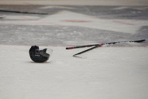 PÅ VENT: Norsk ishockey er satt på pause inntil videre. Tønsberg Vikings' tre neste kamper i 1. divisjon er utsatt.