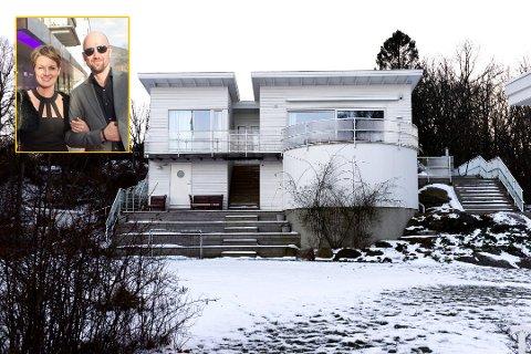 SVARER: Dagfinn Lyngbø og Pernille Sørensen har svart på kommunens tilsynsrapport som beskriver en rekke avvik på deres eiendommen på Tjøme.