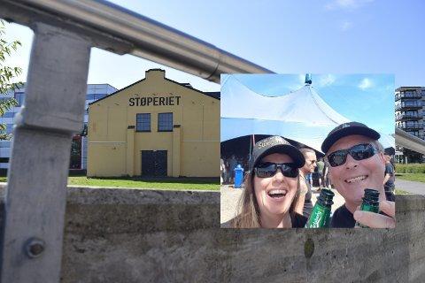 SUPERFAN: Marita Jonassen Müller og Chato Müller har gjort noe som ikke er helt vanlig i festivalverdenen.