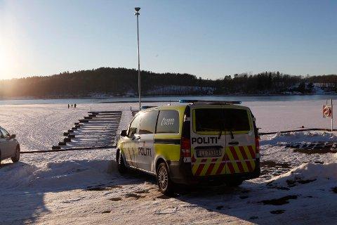 IS: Politiet rykket ut etter melding om folk på isen på Nøtterøy.