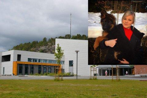 HAR SAKSØKT KOMMUNEN: Cecilie Haugen (innfelt) har saksøkt Drangedal kommune.