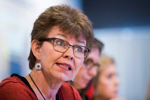 I TYNN TRÅD: Kathrine Kleveland og Senterpartiet tapte utjevningsmandatet fra Vestfold på målstreken i 2017. Nå kan et distriktsmandat glippe for henne hvis partiet ikke klarer å stanse tilbakegangen.