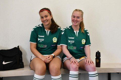 GØY: Madicken Pettersson Zannas og Sara Virik Norheim spiller fotball for å ha det gøy. Nå vil de ha med deg på laget.