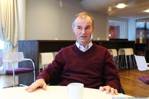 TREKKER SEG I PROTEST: Jan Petter Bergan har nå, etter seks år i vervet, trukket seg som redaktør for Søndre Slagen menighetsblad. Det var veien videre han ikke lenger vil være med om.