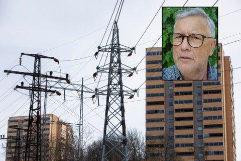 UFORSTÅELIG: Mange har kanskje lagt merke til at strømprisene har tatt seg kraftig opp i 2021. Thorbjørn Vestby vil ha svar på hvorfor strømmen er dyrere i år kontra fjoråret.
