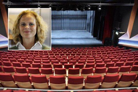 SMITTEKILDEN: Det var her i Nøtterøy kulturhus at korskolen holdt vårkonsert tirsdag og onsdag i forrige uke. Kommuneoverlege i Færder, Elin Jakobsen, sier at det store utbruddet med delta-varianten kan knyttes til disse korkonsertene.