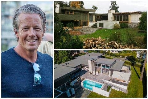 Ivan Christophersen og familien selger drømmeboligen i Husvikåsen, etter å ha forvandlet det over 40 år gamle huset til en svært eksklusiv eiendom.