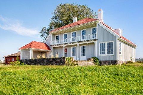 PRISHOPP: 3,25 millioner mer enn det ble kjøpt for i fjor – det er prisantydningen for denne Råel-boligen.
