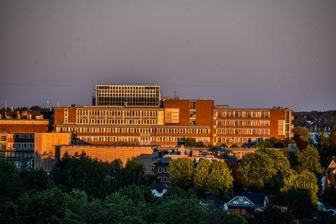 INGEN KORONAPASIENTER: Det er for øyeblikket ingen personer innlagt med koronavirus på Sykehuset i Vestfold fredag.