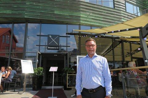 FULLBOOKET: Øyvind Hagen har god grunn til å smile om dagen.