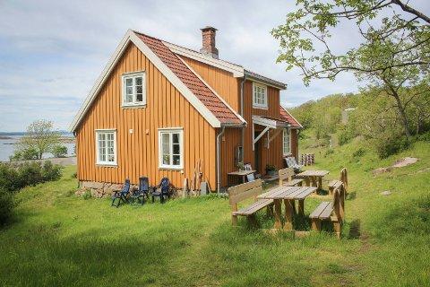 Loshuset Østre Bolæren der Tiril og familien skulle ha ferie.