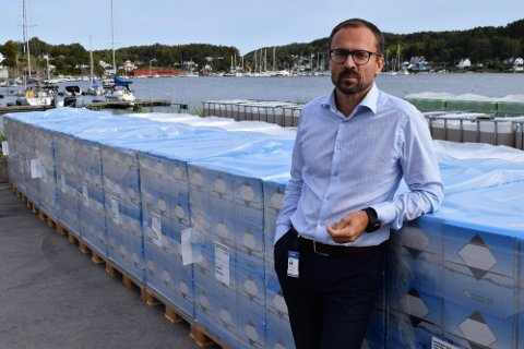 TAPTE I RETTEN: – Vi tar dommen til etterretning, sier daglig leder Thorstein Medhus ved Wilhelmsen Chemicals. Bildet er tatt i en annen sammenheng.