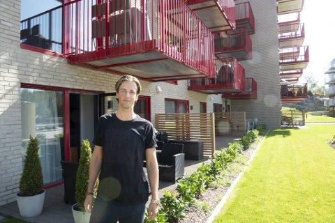 Andreas Ødegaard er godt i gang med å nå målet sitt om å eie 10 utleieleiligheter innen han fyller 30.