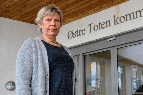 KRISESTAB: Rådmann Aslaug Dæhlen i Østre Toten kommune besluttet torsdag å sette krisestab etter hendelsen på Kapp.