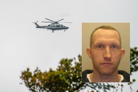LETEAKSJON: Den savnede Christian Berg er 43 år og beskrives som hvit i huden med brunt eller grått kort hår, 165 cm høy og 43 kilo. Han har ifølge politiet på seg sort treningsjakke, sort treningsbukse og sorte sko.