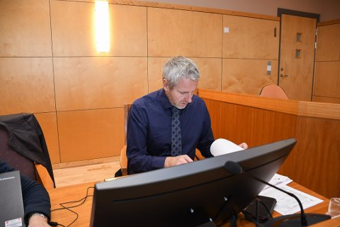 ETTERFORSKER: Politiinspektør Richard Røed og Innlandet politidistrikt etterforsker firmaet som holder til på Raufoss. Arkivfoto: Ringsaker Blad