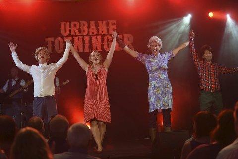 JUBILEUM: Bilde fra premieren av jubileumsshowet til Urbane Totninger i 2016.