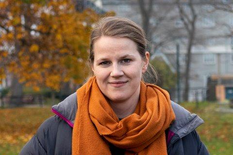 På rekordtid har Katrin Øwre nå samlet tusenvis av foreldre i opprør mot Trondheimsskolen.