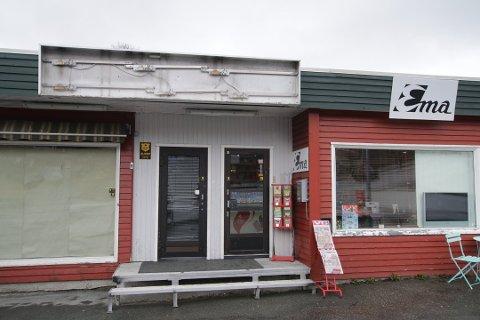 Delt i to: Kiosken utgjorde da dette bildet ble tatt i fjor, bare halvparten av lokalet i Petersborggata 47. Nå skal det etter sigende bli pizzarestaurant.