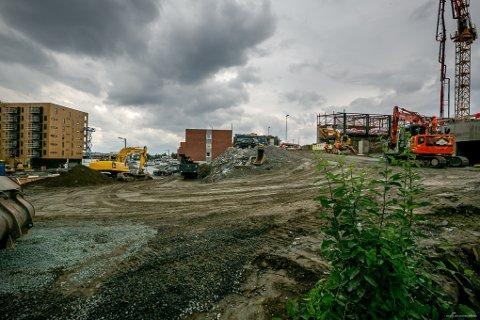 VIL HA SPLEISELAG: Totalt er Bjerkakerhallen estimert til å koste 100 millioner kroner. Nå håper utbyggeren at kommunen skal trå til i et spleiselag for å bedre infrastrukturen rundt den nye fotballhallen.