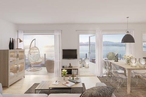 TIL UTLEIE: Det nyoppstartede selskapet Nyheim bolig AS har kjøpt 119 leiligheter til utleie på Midtre Kaldslett. De mener leiemarkedet i Tromsø er noe å satse på.