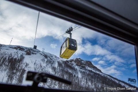 NY I 2015: Fjellheisen i Tromsø ble totalrenovert i 2015. Nå er det tid for vedlikehold.