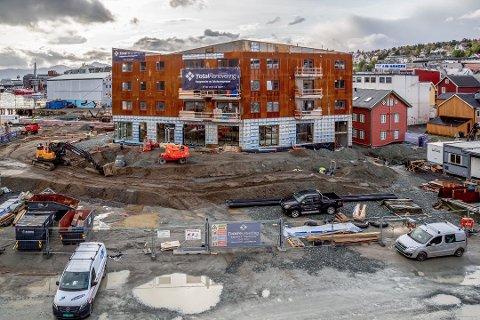 INNFLYTTINGSKLAR: Første byggetrinn i Vervet-prosjektet er innflyttingsklart.