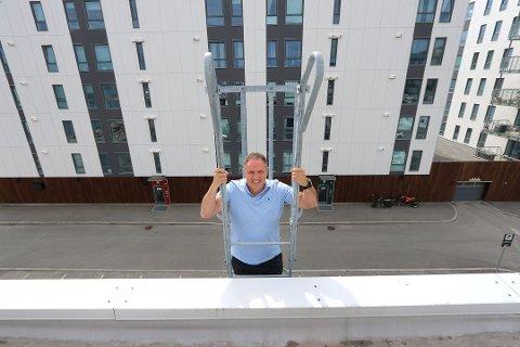 VANT: Kræmer Eiendom vant fram i sitt krav mot en av leilighetskjøperne i prosjektet Kræmer Brygge på Tromsøya. Uheldig at saken havnet i retten, mener daglig leder Petter Daae.