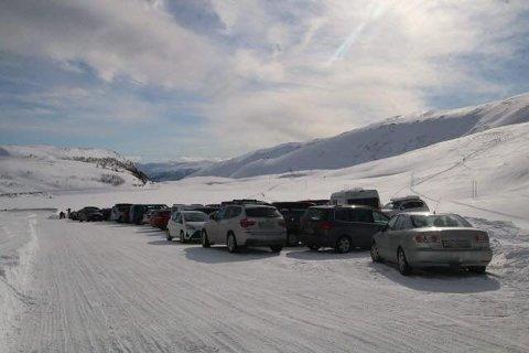 POPULÆR: Toppen av Finnvikdalen er populær både blant turister og tromsøværinger.