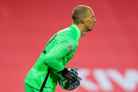 NULL BAKLENGS: Keeper André Hansen holdt nullen nok en gang for Norge.