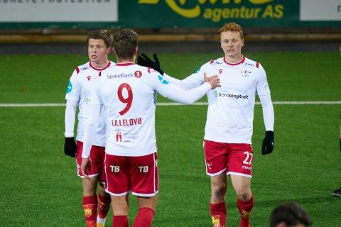TIL LERKENDAL: Andreas Hegdahl Gundersen og LFK får bryne seg på RBK, i deres egen storstue, tirsdag neste uke.
