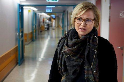 UTDANNES FOR FÅ: – Det utdannes i dag altfor få helsefagarbeidere, og altfor få sykepleiere og spesialsykepleiere, sier stortingsrepresentant Ingvild Kjerkol (Ap).