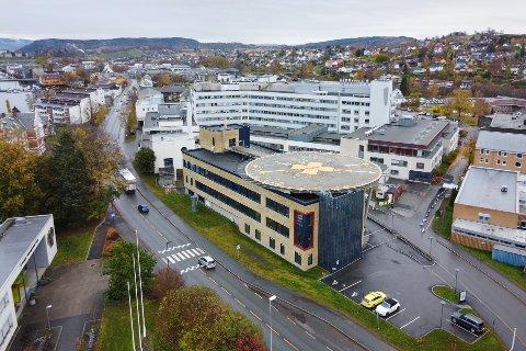Fem pasienter er innlagt med koronasmitte ved sykehuset Levanger.
