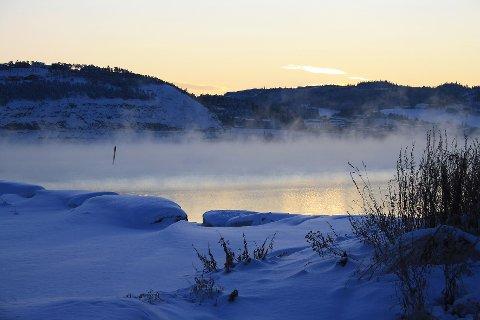 SPRENGKULDE: Den kjølige værtypen som har ligget over Trøndelag de siste ukene holdt seg også natt til fredag.
