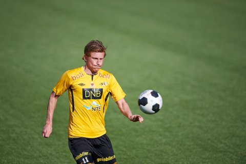 NY KLUBBSTRUKTUR: Sondre Nylund og resten av Steinkjer FK skal spisse satsingen enda mer. Målet er 2. divisjon i 2023.