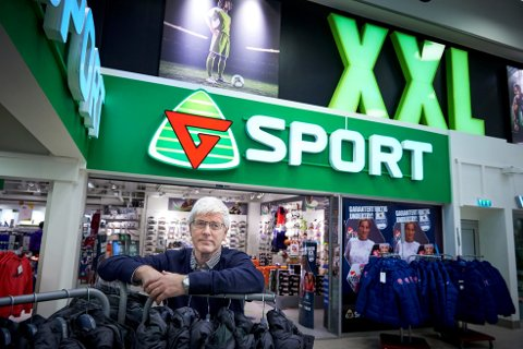 Erik Sakshaug - eier av flere G-sport-butikker. Etter konkurransetilsynets avgjørelse får han mulighet til å tegne en kjedeavtale for allesinebutikker.